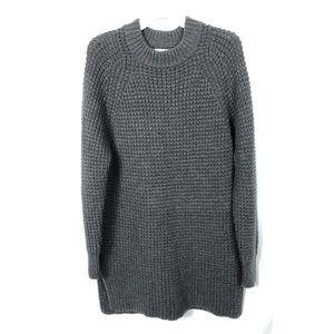 Everlane Chunky Knit Wool Sweater Dress